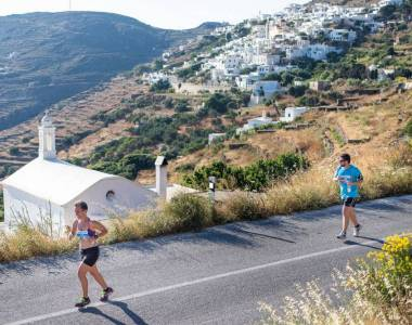 Tinos Running Experience